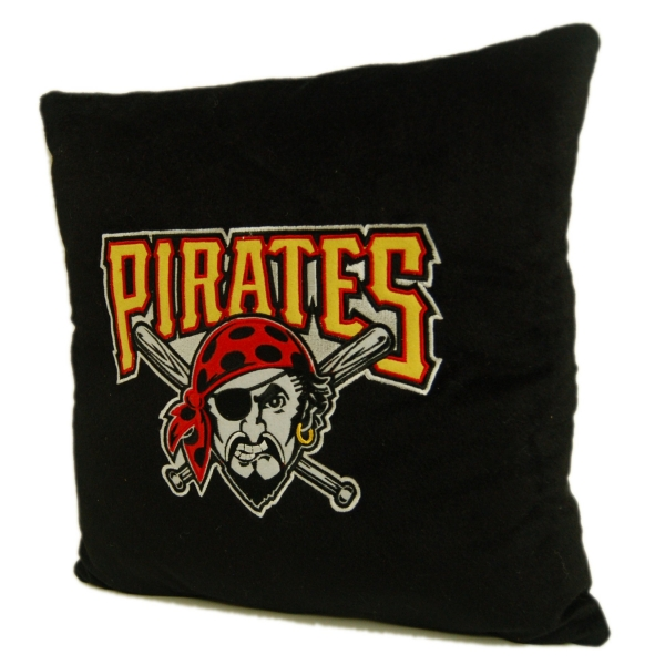 Pittsburgh Pirates Mlb 16 Quot Embroidered Plush Pillow With