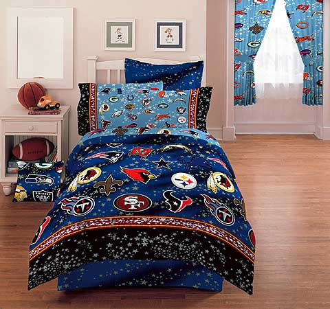 Nfl Stars Full Bed Skirt