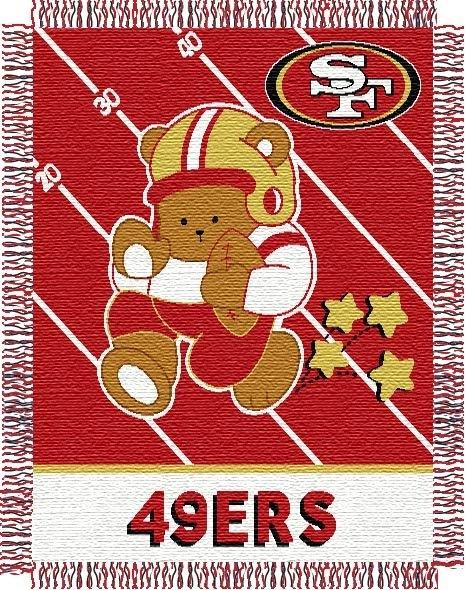 San Francisco 49ers Nfl Baby 36 Quot X 46 Quot Triple Woven