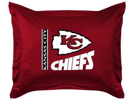 Kansas City Chiefs Locker Room Pillow Sham
