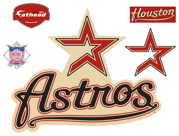 Houston Astros Mlb Fathead Life Size Wall Graphics