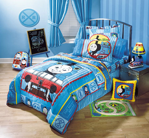 Thomas And Friends Full Bedskirt