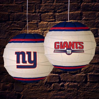 New York Giants Nfl 18 Quot Rice Paper Lamp