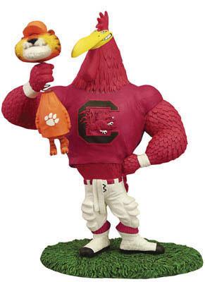 South Carolina Gamecocks Ncaa College Rivalry Mascot Figurine