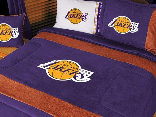 Http Familybedding Com 1 866 925 6650 Products Los Angeles Lakers Nba Microsuede Comforter Sheet Set Html