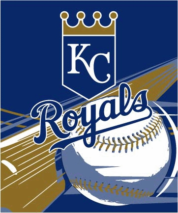 Kansas City Royals Mlb Quot Big Stick Quot 50 Quot X 60 Quot Super Plush Throw