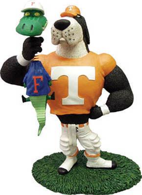 Tennessee Vols Ncaa College Rivalry Mascot Figurine