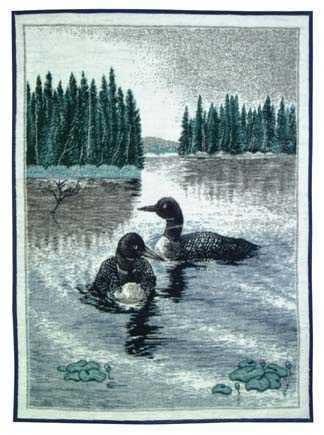 Loon Lake Blanket