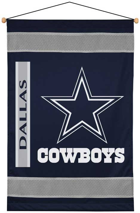 dallas cowboys side lines wall hanging