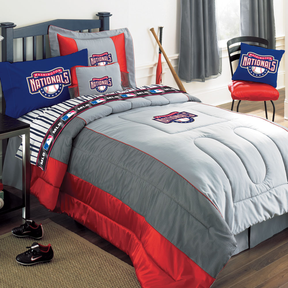 Washington Nationals Mlb Authentic Team Jersey Bedding