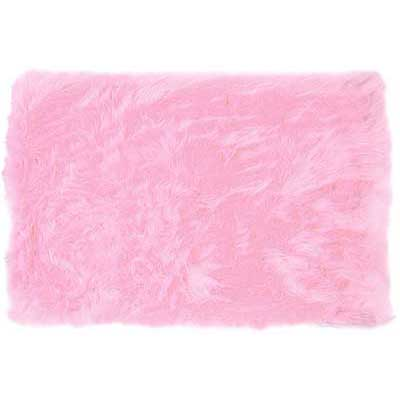 Teen Hot Pink Flokati Rug 62