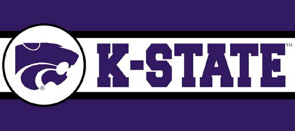 Kansas State Wildcats 7 Quot Tall Wallpaper Border