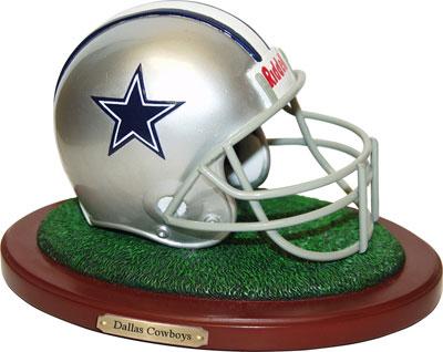 Dallas Cowboys Nfl Football Helmet Figurine