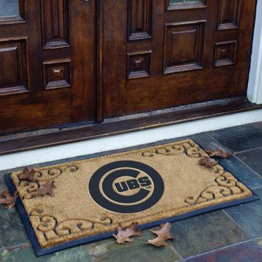 Chicago Cubs Mlb Rectangular Outdoor Door Mat