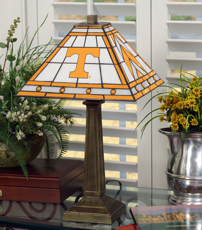 Tennessee Vols Ncaa College Stained Glass Mission Style