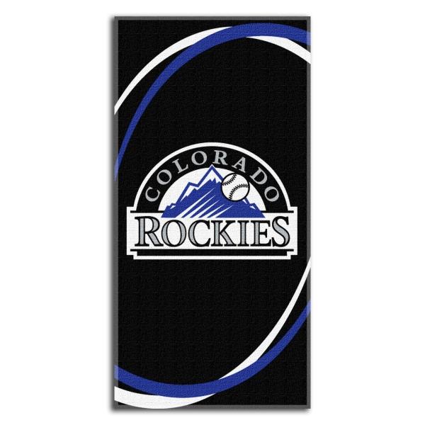"""Colorado Rockies Wallpaper: Colorado Rockies MLB 30"""" X 60"""" Terry Beach Towel"""
