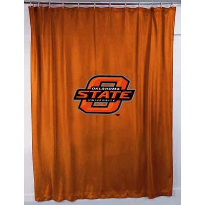 Oklahoma State Cowboys Locker Room Shower Curtain
