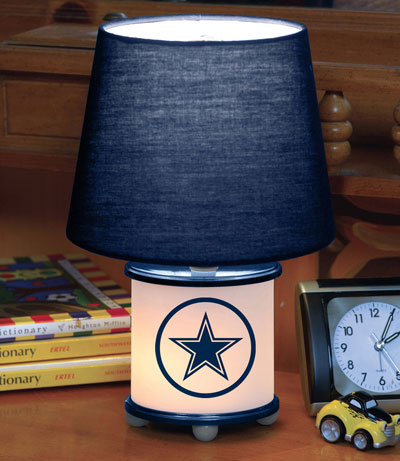 Dallas Cowboys NFL Accent Table Lamp. Zoom