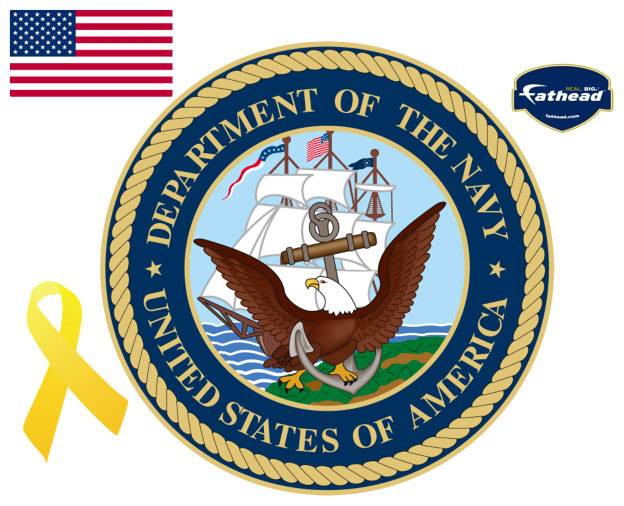 Navy Insignia Fathead Military Wall Graphic
