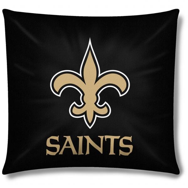 New Orleans Saints Nfl 18 Quot Toss Pillow