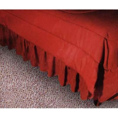 Kansas City Chiefs Locker Room Bed Skirt