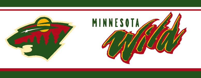 Minnesota Wild Wallpaper Border Zoom