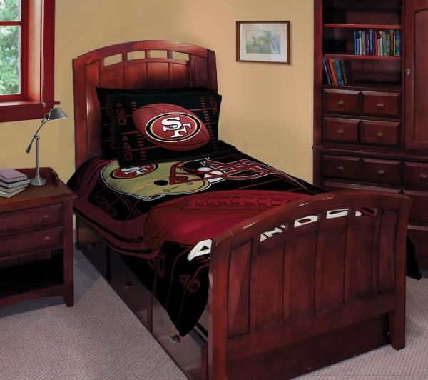 San Francisco 49ers Nfl Twin Comforter Set 63 Quot X 86 Quot