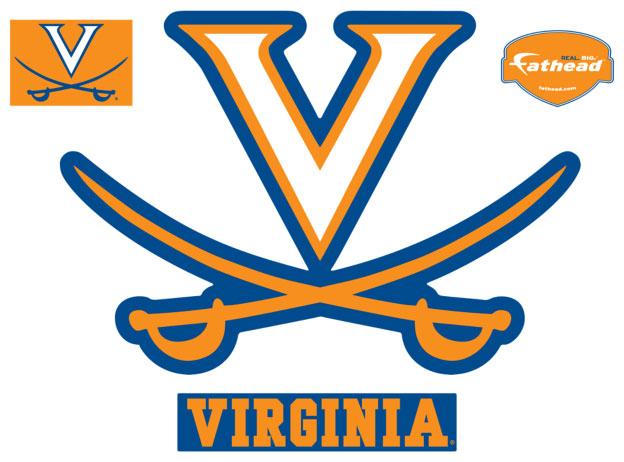 Virginia Logo Fathead Ncaa Wall Graphic