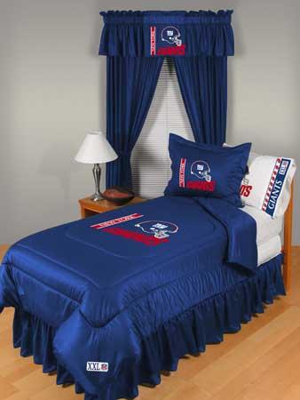 New York Giants Locker Room Comforter Sheet Set