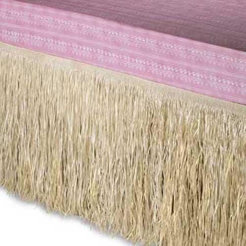 Grass Raffia Queen Bedskirt