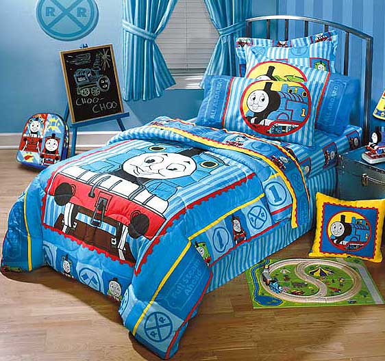 Thomas And Friends Twin Comforter Sheet Set