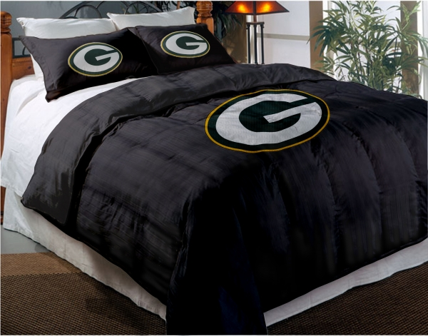Green Bay Packers Nfl Twin Chenille Embroidered Comforter