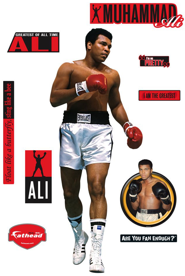Muhammad Ali Fathead Boxing Wall Graphic