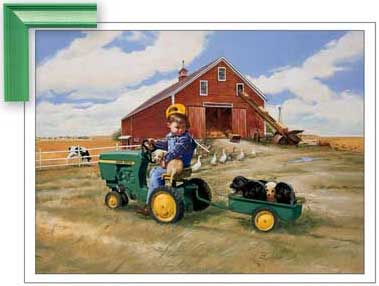 Contemporary rugs by john deere