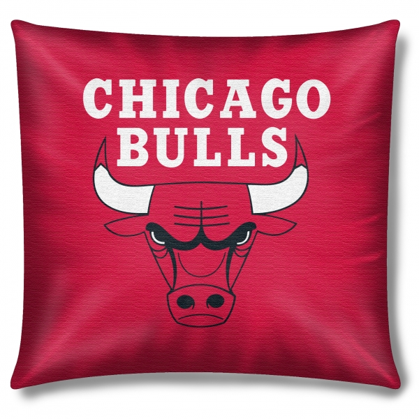 Chicago Bulls Nba 16 Embroidered Plush Pillow With Applique