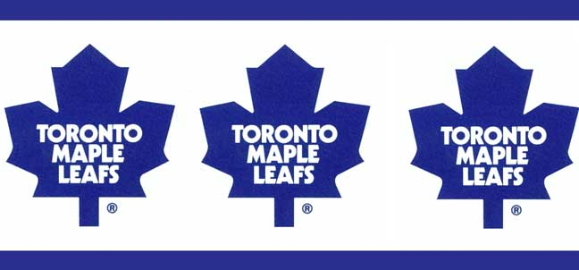 Toronto Maple Leafs Wallpaper Border
