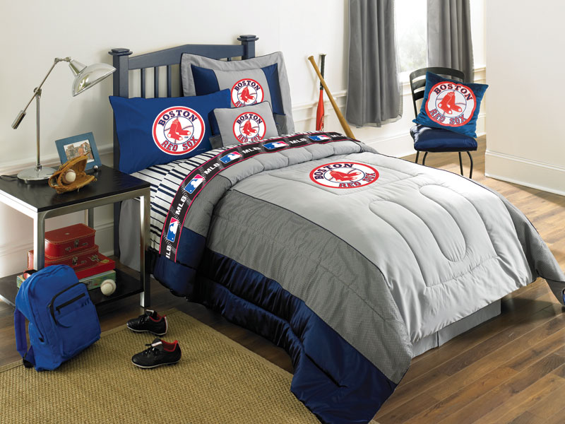 Boston Red Sox Full Size Sheets Set. Zoom