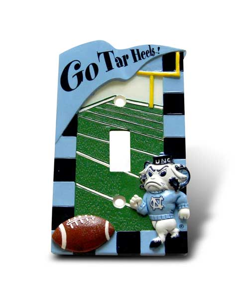 University Of North Carolina Light Switch Cover
