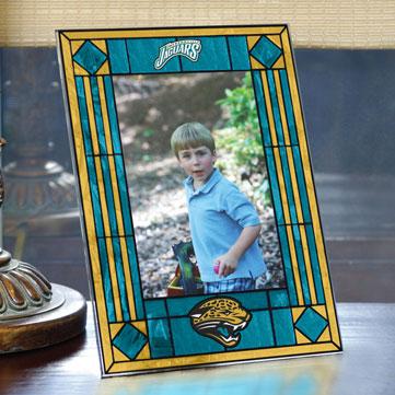 Jacksonville Jaguars Nfl 9 Quot X 6 5 Quot Vertical Art Glass Frame