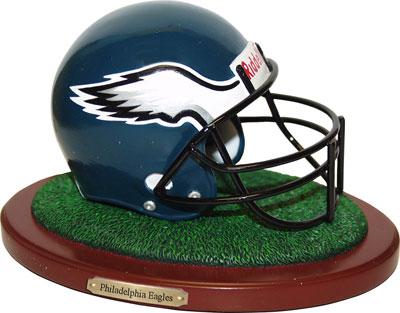 Philadelphia Eagles NFL Football Helmet Figurine