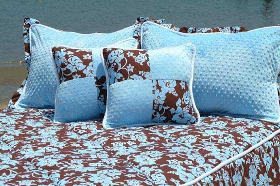 Malibu Girls Blue Full Hugger Comforter