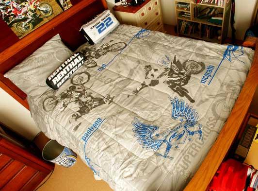 Supercross Crib Bedding