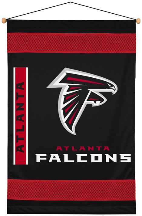 Atlanta Falcons Side Lines Wallhanging