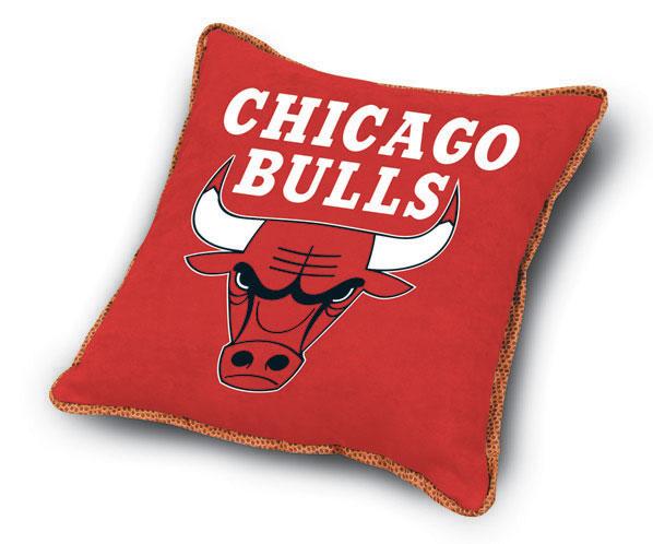 Chicago Bulls Mvp Microsuede 18 Toss Pillow