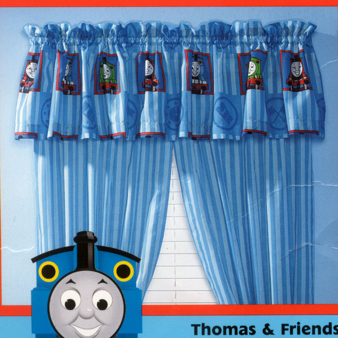 Thomas and Friends Window Valance