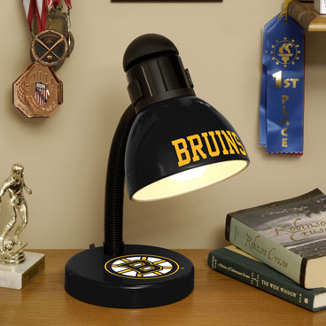 Boston bruins nhl desk lamp Bruins room decor