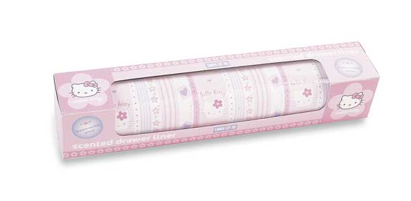 Hello Kitty Scented Drawer Liner