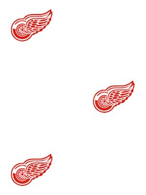 Detroit Red Wings Logo Wallpaper Double Roll