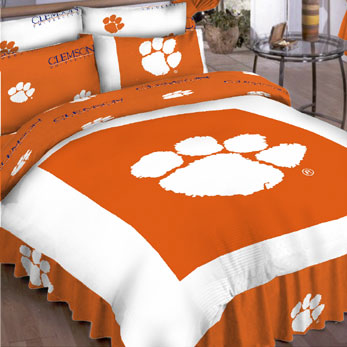 Clemson Tigers Full Bed In A Bag