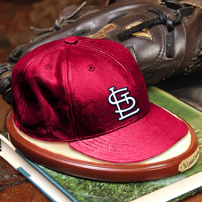 St Louis Cardinals Mlb Baseball Cap Figurine